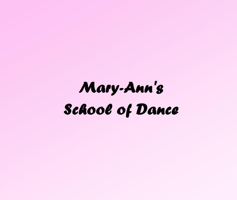 MARY- ANN'S DANCE RECITAL