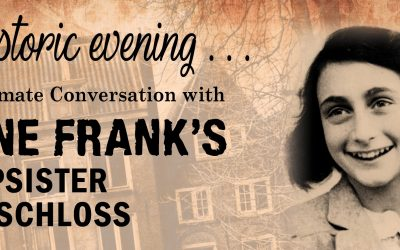 An Intimate Conversation With Anne' Franks Stepsister